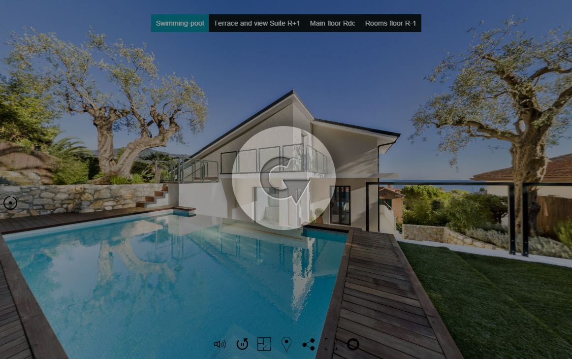 Villa design St Jean-Cap-Ferrat