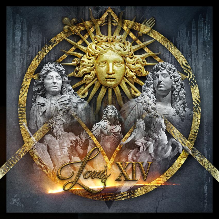 louis XIV, le Roi Soleil par Thierry Russo-Delattre, photographe