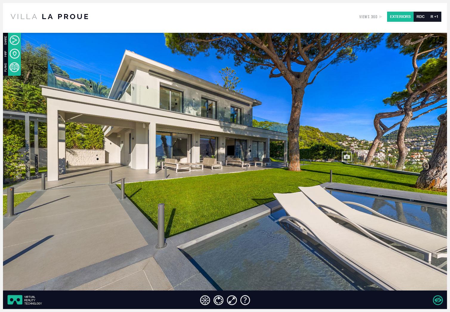Villa de luxe fren Riviera luxury villa